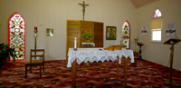 inside Wondai Church